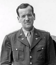 """Then, """"With the onset of WWII [in 1939], Glenn Miller willingly left behind his musical success to serve his country.  [At 38, Miller was too old to be drafted, and first volunteered for the Navy but was told that they did not need his services.]  In 1942, he enlisted in the US Army Air Force leaving behind civilian life but not his music. Appointed as a Captain in the Army Specialist Corps, he devoted himself to raising soldiers' morale by modernizing the army band."""