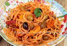 Pasta alla Trinacria ricetta primo piatto veloce blog il mio saper fare