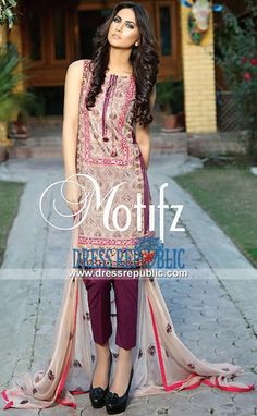 Motifz Boutique Embroidered Lawn Collection 2015 Online Vol 1