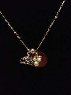 Disney Princess Half Marathon Inspired Necklace by RunnersBling, $15.00