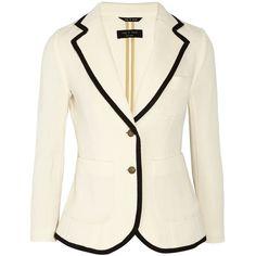 Rag & bone The Bromley merino wool blazer ($495) ❤ liked on Polyvore