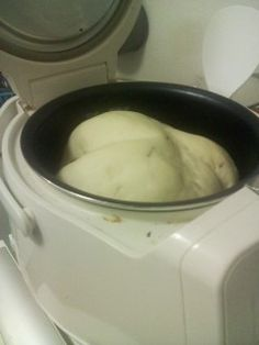 Making bread in a rice cooker. Many recipes- Banana bread is the only one I can vouch for