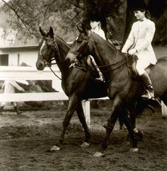 Jackie riding her horse
