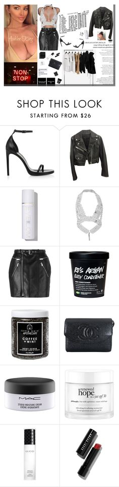 """""""Everything I do, I do it with a passion If I gotta be a bi tch, I'mma be a bad one"""" by ashlee-lynn ❤ liked on Polyvore featuring FourTwoFour on Fairfax, Yves Saint Laurent, Alexander Wang, Eve Lom, Fannie Schiavoni, Little Barn Apothecary, Chanel, MAC Cosmetics, philosophy and Gucci"""