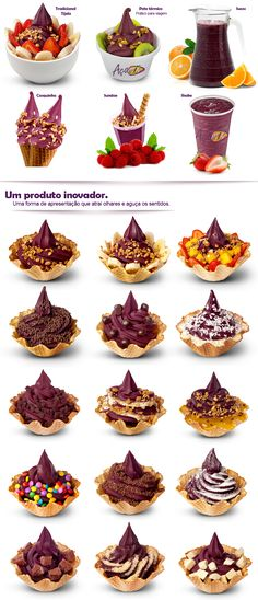 Sorvete soft difference AçaMix Açaí