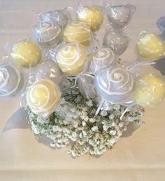 Shabby Chic themed Wedding Cake Pops