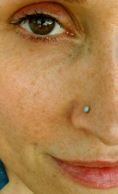Image result for opal nose studs