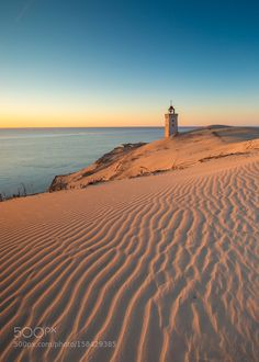 Rubjerg Knude Fyr by jariehrstrom. Please Like http://fb.me/go4photos and Follow @go4fotos Thank You. :-)