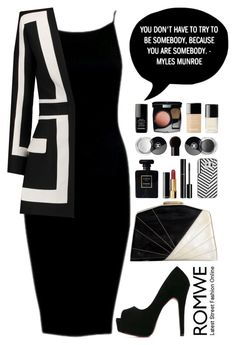 """""""Romwe 7"""" by scarlett-morwenna ❤ liked on Polyvore featuring Balmain, Casetify and Chanel"""