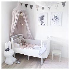 Baby Bedroom, Girls Bedroom, Bedroom Ideas, Beige Nursery, Babies R, Big Girl Rooms, Nursery Inspiration, Kids Room, Toddler Bed