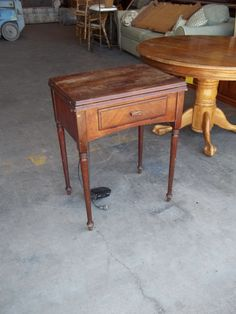 Singer Sewing Machine Repurposed Desks