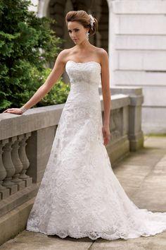 Gown by David Tutera for Mon Cheri