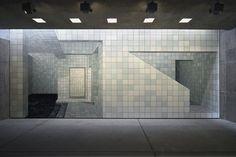 Adriana Varejão Inhotim Centro de Arte Contemporânea. Pavilhão de exposição permante