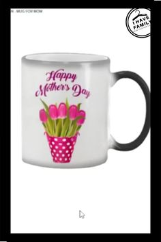MOTHER'S DAY COLOR CHANGING MUG DESIGN - MUG FOR MOM. #mom #mother'sday #motherday Gifts For Family, Gifts For Mom, Nurses Week Quotes, Mother's Day Colors, Mother's Day Mugs, Dad To Be Shirts, Mug Designs, Cute Gifts, Mothers