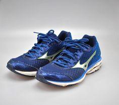 80af91846e6 Mizuno Wave Rider 19 Men s Running Shoes Blue SZ 10.5  Mizuno   AthleticSneakers