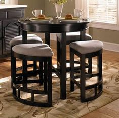 WOODEN ROUND Game Table