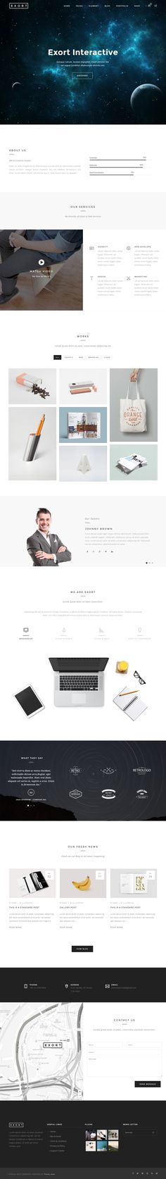 Parallax Website Template Naila Is Premium Full Responsive Retina #parallax Html5 Template