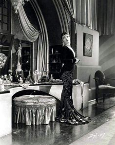 vintage Hollywood glamor spa ideas | ... Shearer - via Trouble in Paradise - Old Hollywood Glamour Vanityps