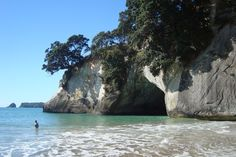 Despite having the world's tenth longest coastline, New Zealand's beaches are often overlooked for its mountains. www.TheTripStudio.com