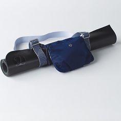Essential mat carrier Lululemon blue yoga bag NWT Rare sapphire HOBE blue color lululemon athletica Bags
