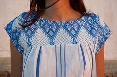 Traditional Fabric, Blouse, Greek, Clothes, Collection, Tops, Summer, Women, Style