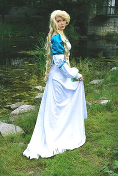 #Cosplay #costume idea: The #Swan_Princess