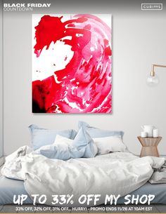 Home Decor | Gifts | Interior Design | Art by @anoellejay Starting at $29 Discover «By Water and Blood», Limited Edition Aluminum Print by Alicia Jones - From $65 - Curioos