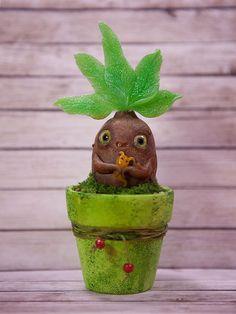 Swamp Mandrake by Furrykami-creatures