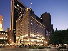 Enjoy the Christmas holidays with a stay at the luxury The Plaza hotel in New York City. New holiday travel packages from The Plaza hotel. The Plaza Hotel Nyc, Hotel New York, New York City, Liza Minnelli, Oscars, Fairmont Hotel, Hotels And Resorts, Luxury Hotels, Luxury Travel