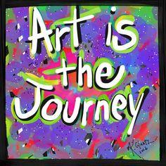 #ArtistheJourney #freelance #graphicdesign #art #katieglantz #typography