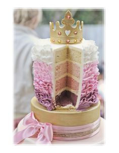 Fit for a Princess and it looks delicious too :-)