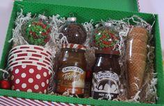 Great gift for families - Ice Cream Sundae Gift Basket