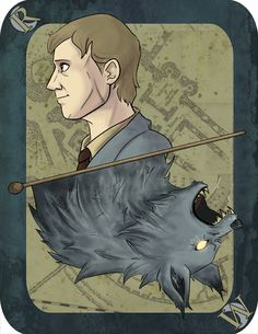Messers Moony, Wormtail, Padfoot and Prongs are proud to present… The entire Marauders card set! imaginative-ink.tumblr.com