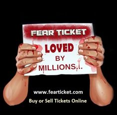 Buy or sell haunted attractions tickets on Fear Ticket - World's Largest Online Community of Halloween & Haunted People
