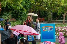 A little drizzle wont stop the Razamatazz Show. A nice lady took pity on me and held up her umbrella Patio, Entertaining, Nice, Gallery, Lady, Outdoor Decor, Roof Rack, Nice France, Funny