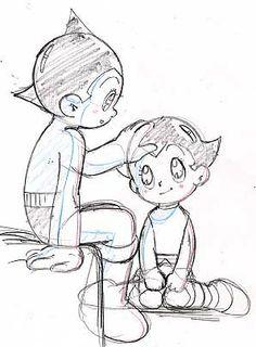 Astro Boy and Uran
