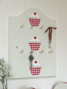 Double Key Rack Fabric Cupcake