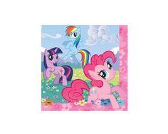 My Little Pony Lunch Paper Napkins, 16 pcs