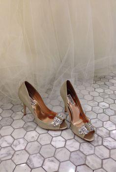 Sparkly Glitter Heels