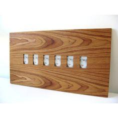 Boom Design Six Slot Wood Picture Frame | AllModern