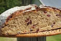 Orange Rye Sourdough &Cranberries