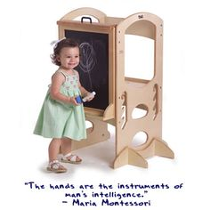 Little Partners Art Easel - Dark Cherry: Learning Tower Add-On Chalk Board/Paint Easel - Transform Your Learning Tower into a Fun Art Station - For Use with the Learning Tower (Sold Separately) Wooden Easel, Wooden Art, Learning Tower, Kids Learning, Nursery Furniture, Kids Furniture, Art Easel, Sustainable Furniture, Natural Toys