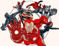 Civil War' Team Iron Man - Vincent Rhafael Aseo