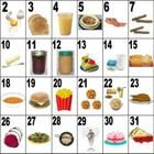 32 breakfast, lunch and dinner food words on a large poster. These posters makes teaching Food vocabulary easier. The numbers on the poster lend to...
