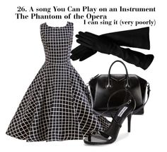 """""""30daysongchallenge: Day 26"""" by secretsoftheslytherin ❤ liked on Polyvore featuring Givenchy, Steve Madden, secretslytherindesigns and secretslytherinchallenges"""