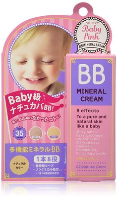 Bison Baby Pink | Makeup Foundation | BB Mineral Cream 02 Natural Color 20g, SPF35 PA   >>> Click image to review more details.