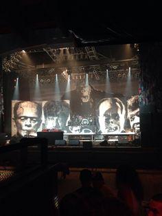 Rob Zombie stage set