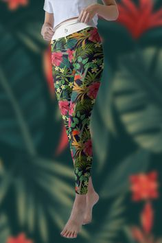 Not see-through, squat proof and ultra comfy. Designed for women and girls of all shapes, curves, sizes & ages. Support every move. Women's Leggings, Yoga Fitness, Hug, Looks Great, Curves, Just For You, Peace, Shapes, Workout
