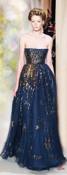 #blueandgoldpromspirit  Haute Couture Valentino