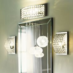 4 Light Crystal Bathroom Vanity Light | Bathroom Vanities, Vanities And  Lights